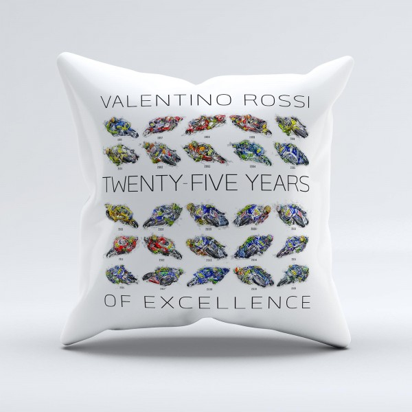GP-Kissen - Valentino Rossi - 25 Years of Excellence