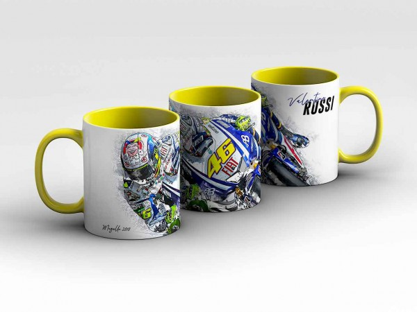 GP-Tasse 95 - Valentino Rossi - Collectors Edition - Mugello 2010