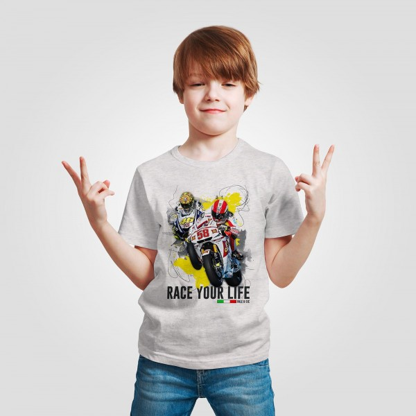 Kinder T-Shirt - Valentino Rossi - Race your Life