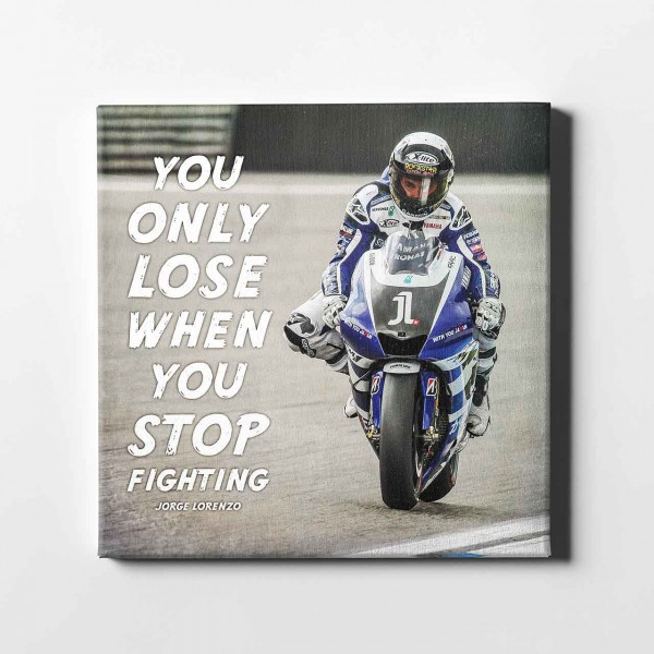 Jorge Lorenzo - Zitat fighting - JL11 -