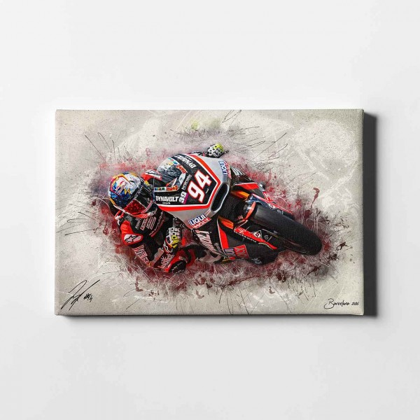 "Jonas Folger - ""Barca Speed - artwork"" - JF05 -"