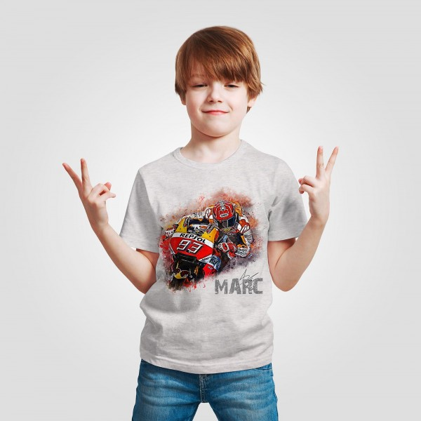 Kinder T-Shirt - Marc Marquez - Attacke
