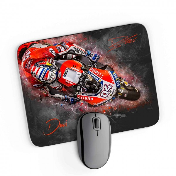 GP-Mousepad Andrea Dovizioso - from the top