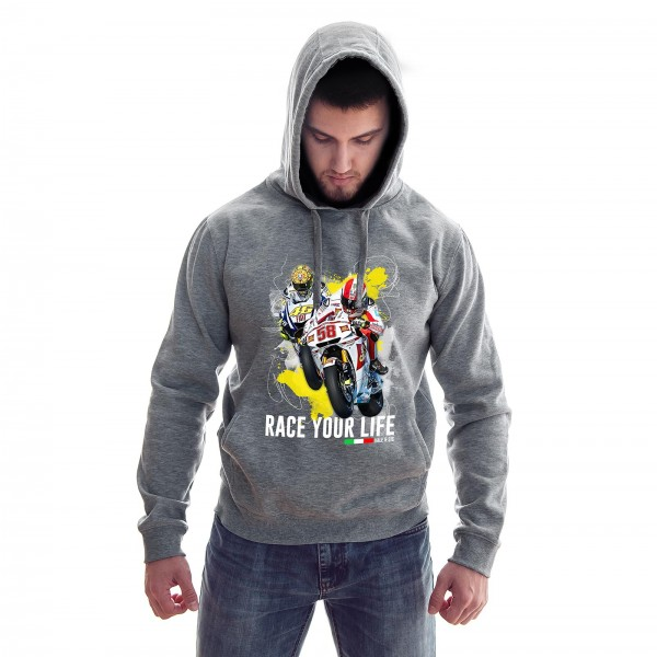 Hoodie - Valentino Rossi & Marco Simoncelli - Race your Life