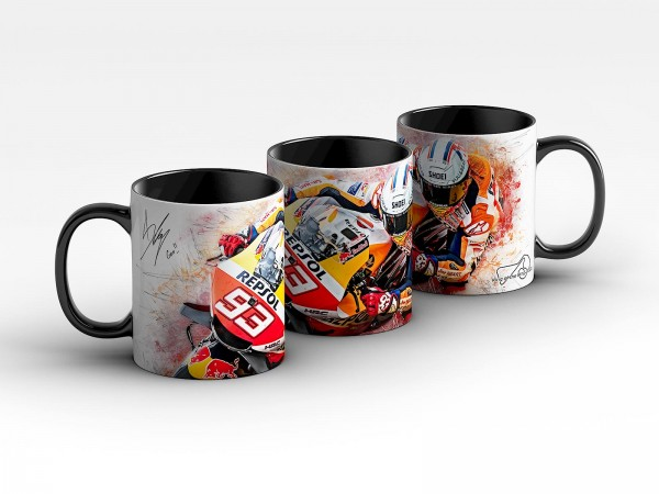 GP-Tasse 159 - Marc Marquez - King of the Ring