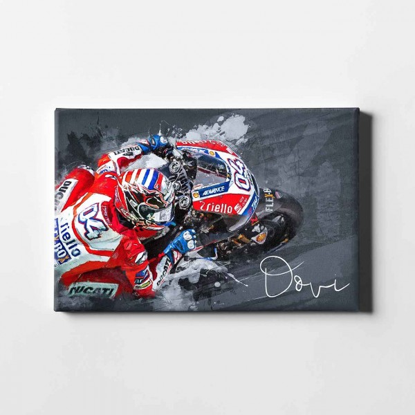 "Andrea Dovizioso - ""abstract"" - AD01 -"