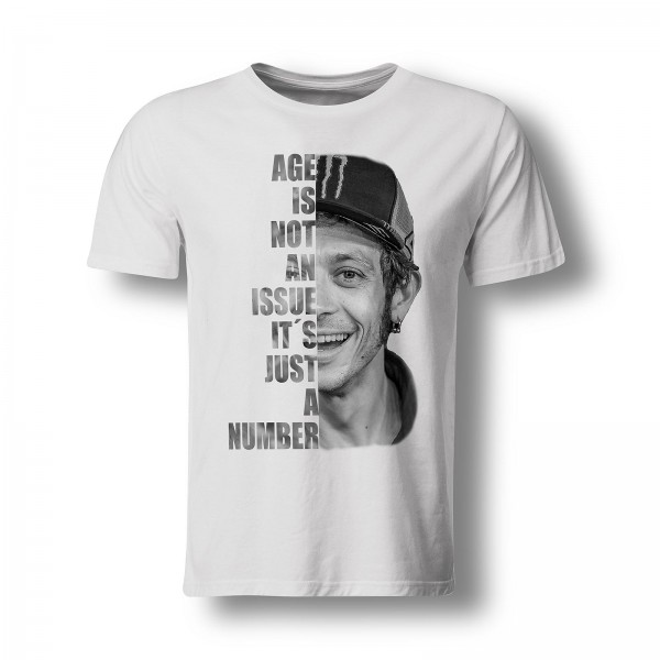 """T-Shirt Valentino Rossi - """"Age is not an issue..."""""""