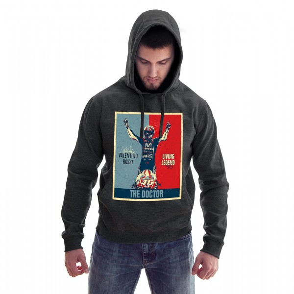 Hoodie - Valentino Rossi - Living Legend - The Doctor