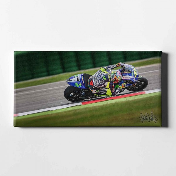 """Valentino Rossi - """"elbow sparks"""" -VR02 -"""