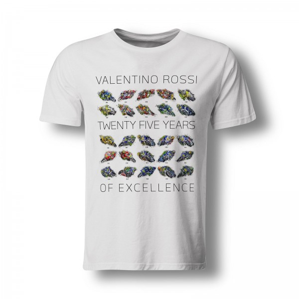 T-Shirt Valentino Rossi - 25 Years of Excellence