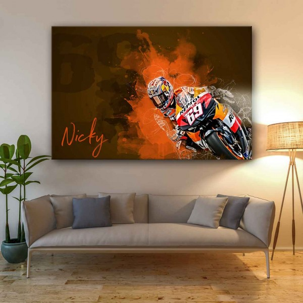 "Nicky Hayden ""number 69"" - NH02"