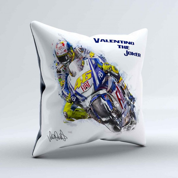 GP-Kissen Valentino Rossi - the Joker
