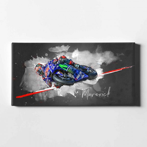 "Maverick Vinales - ""Austin artwork"" - MV12"