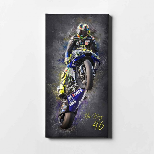 "Valentino Rossi - ""The KING black- VR44 -"