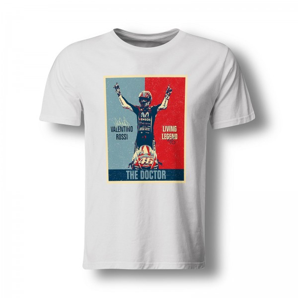 T-Shirt Valentino Rossi - Living Legend - The Doctor