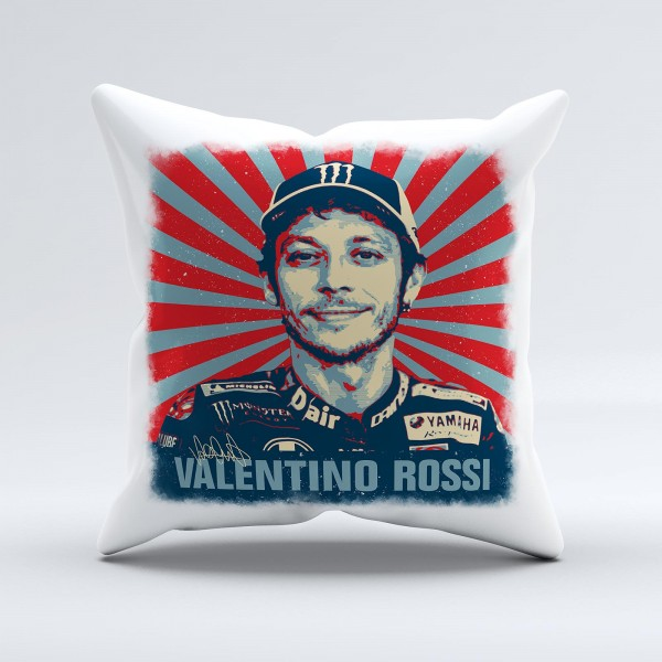 GP-Kissen - Valentino Rossi - Living Legend - STAR