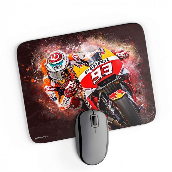 GP-Mousepad Marc Marquez - splash