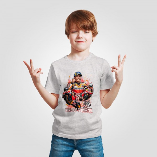 Kinder T-Shirt - Marc Marquez - King of the Ring