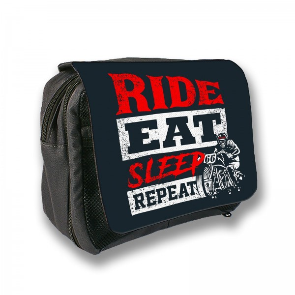 Kulturtasche - Vollgas - ride eat sleep repeat