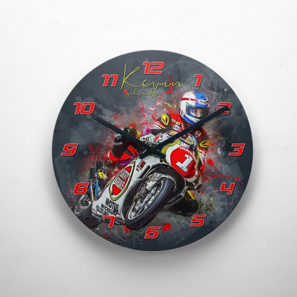 GP-Clock - Kevin Schwantz - clear