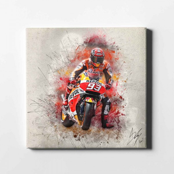 "Marc Marquez - ""Barcelona brakin artwork"" - MM11 -"