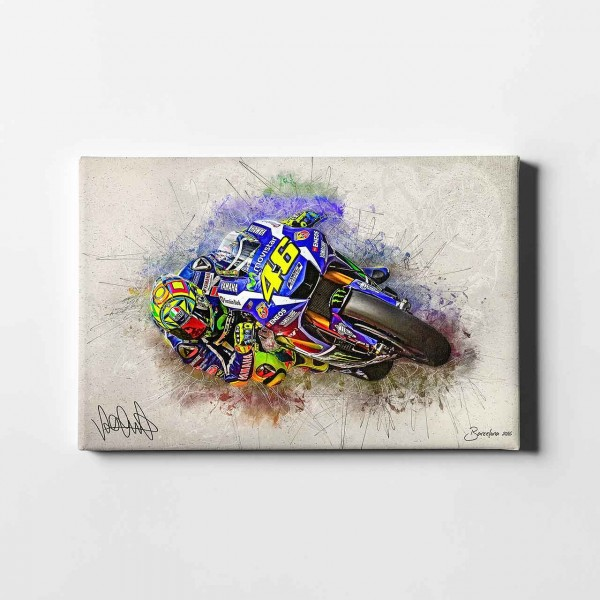 "Valentino Rossi - ""Barca 2016 - artwork no.2"" - VR22"