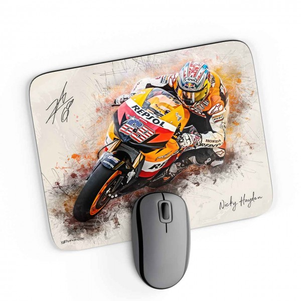 GP-Mousepad Nicky Hayden - American