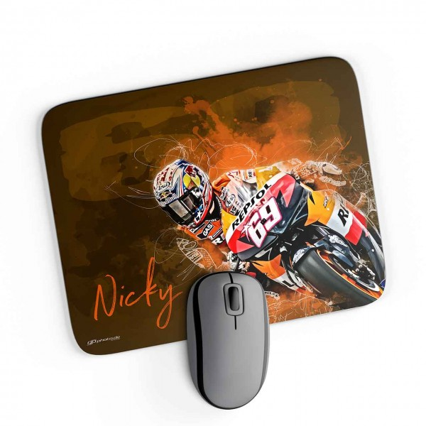 GP-Mousepad Nicky Hayden - Repsol
